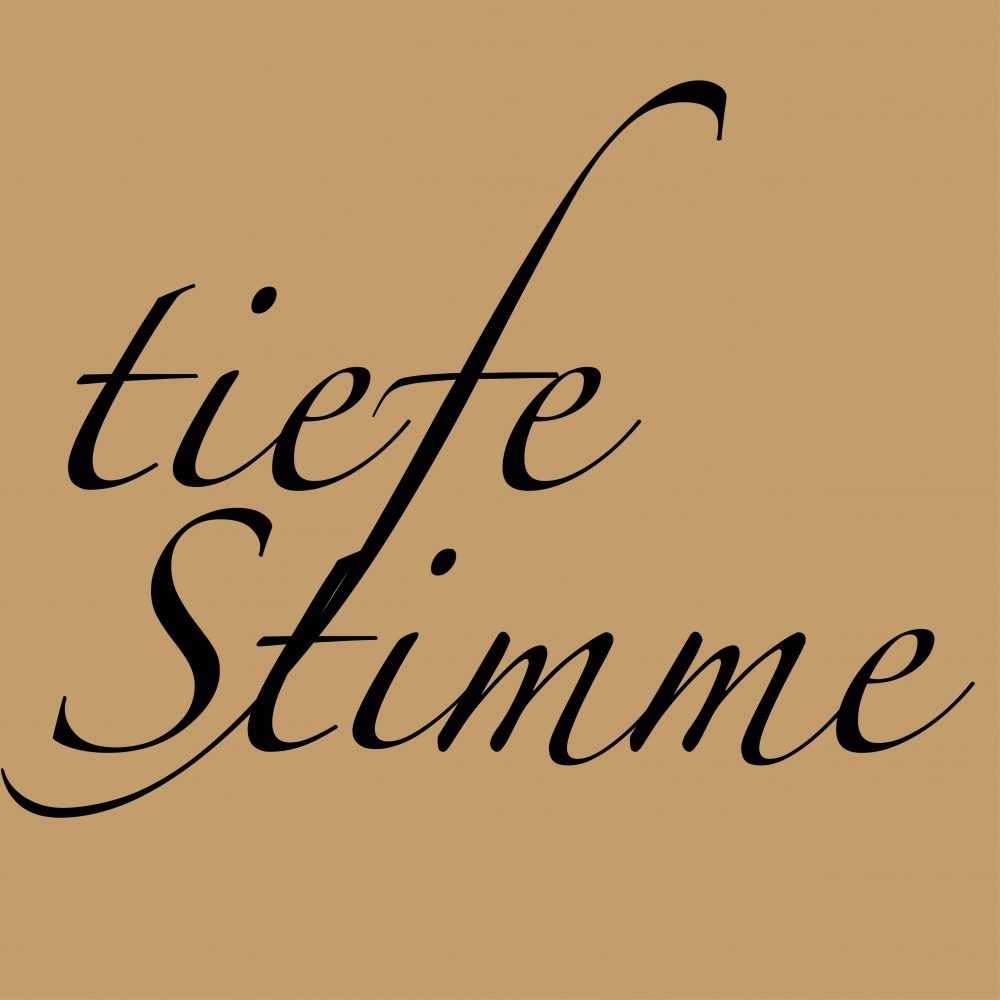 Tiefe Stimme